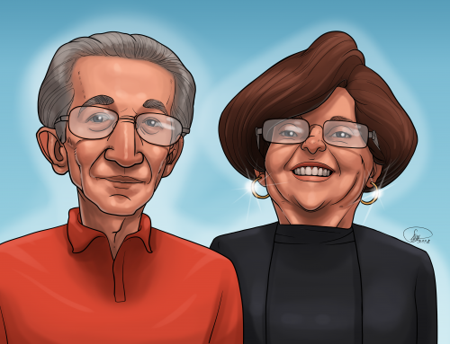 Advice to Children of Aging Parents–From Aging Parents. Meet Annette and Joe, Diane's Parents.  Episode 54
