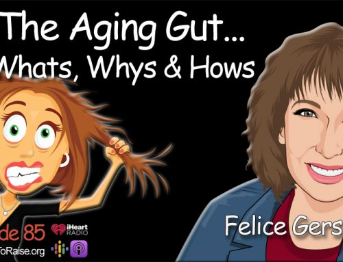 The Aging Gut – Disease or Wellness?  It's Your Choice.   Felice Gersh, MD #85
