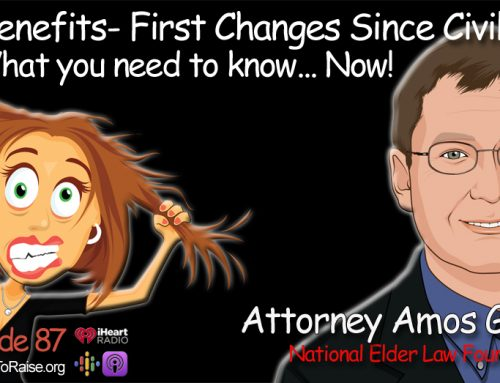 V.A. Benefits- First Changes Since Civil War- What you need to know now.  Amos Goodall, Esq.  #86